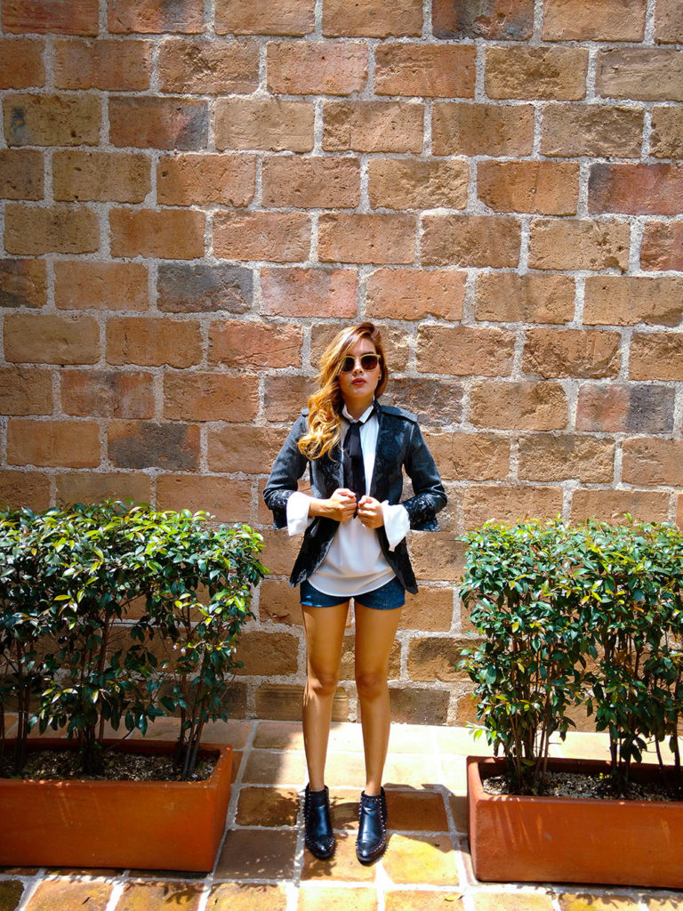 Riding Coat - Colombian Blogger