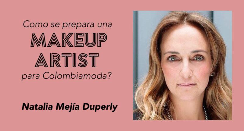 makeup artist colombiamoda