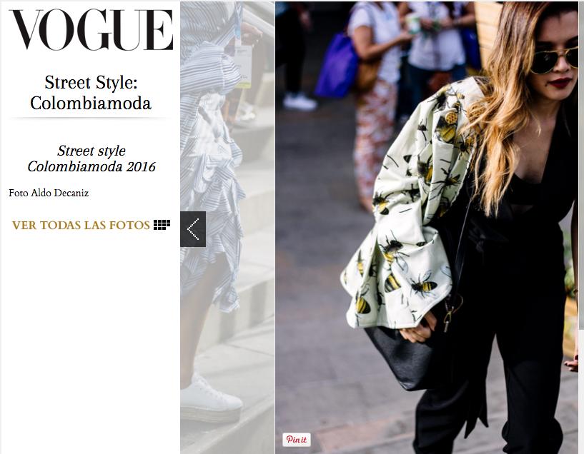 Style Gibberish – Carolina Santamaría –Blog Colombia Vogue