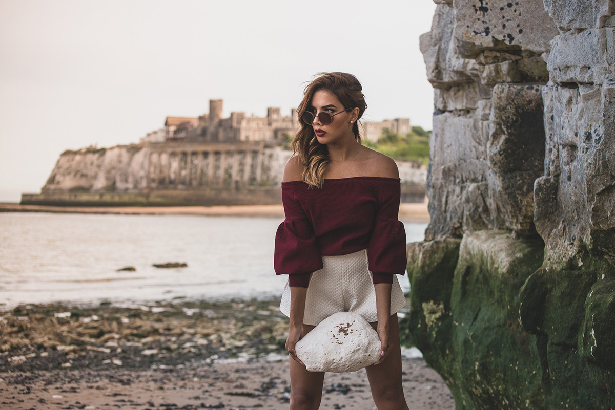 ON TOP OF THE CLIFFS - MARGATE ENGLAND LOOKBOOK