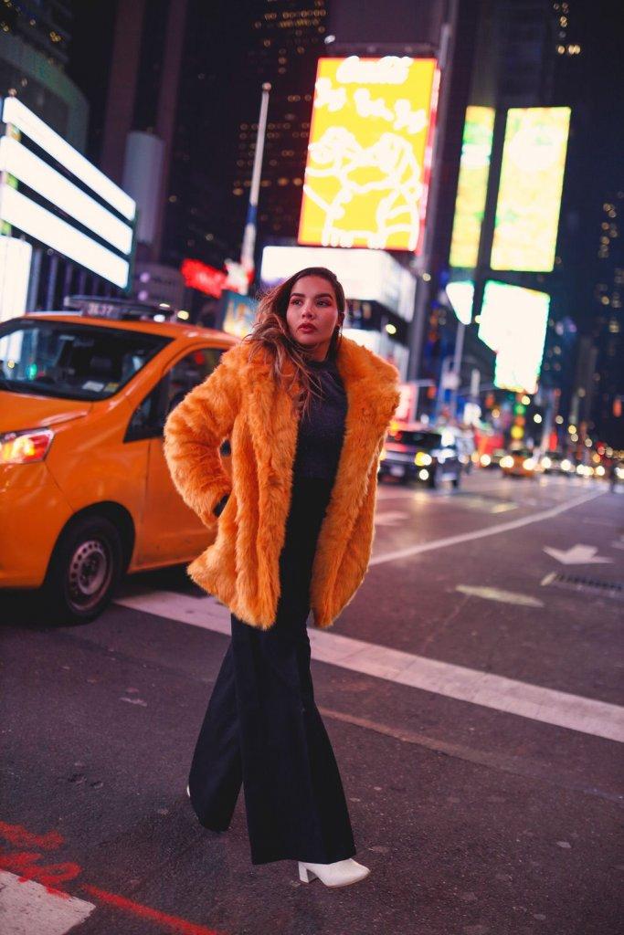 Times Square Photos Fashion Blogger New York Travel