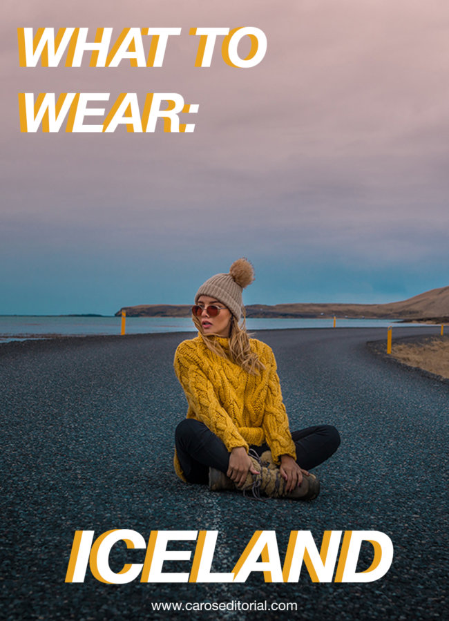 What to wear in Iceland Travel Tips Viaje Islandia by fashion blogger @caroseditorial #traveliceland #winteroutfit #snowoutfit #iceland #travelblogger