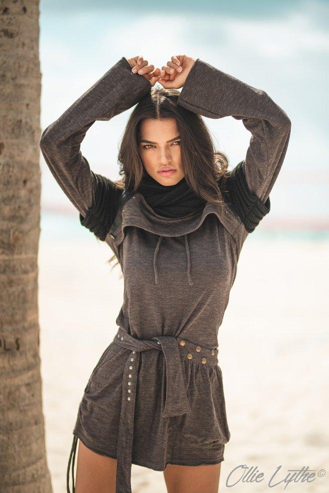 Beach fashion editorial