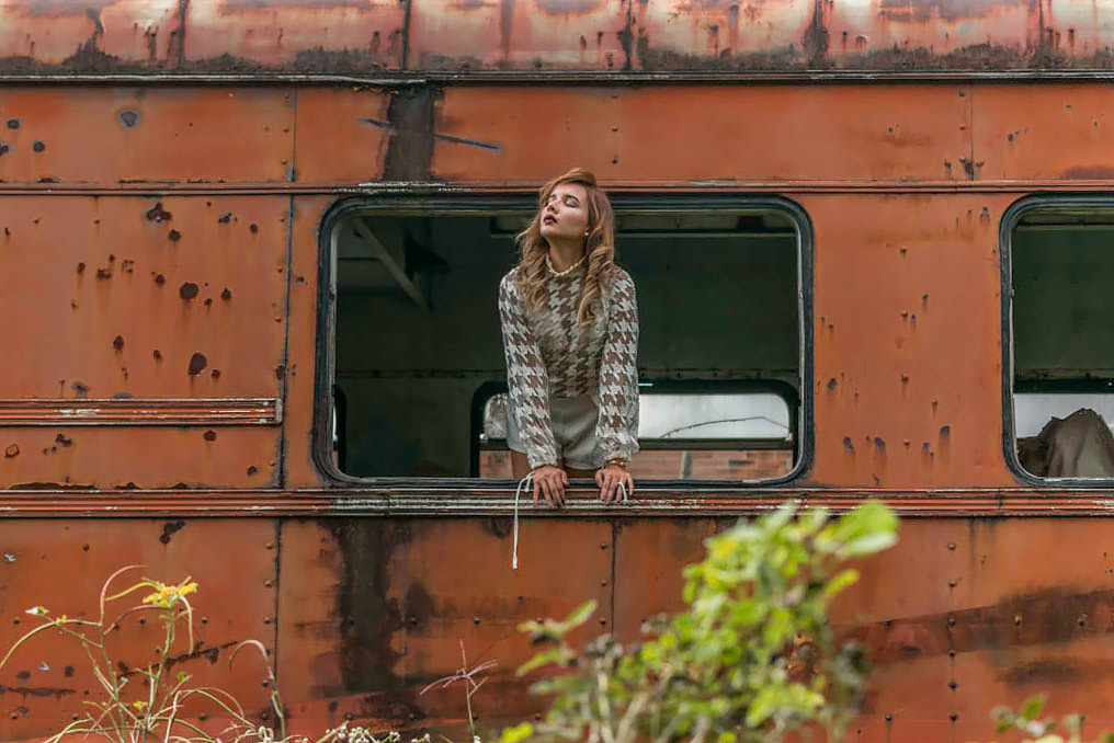 Train Fashion Editorial