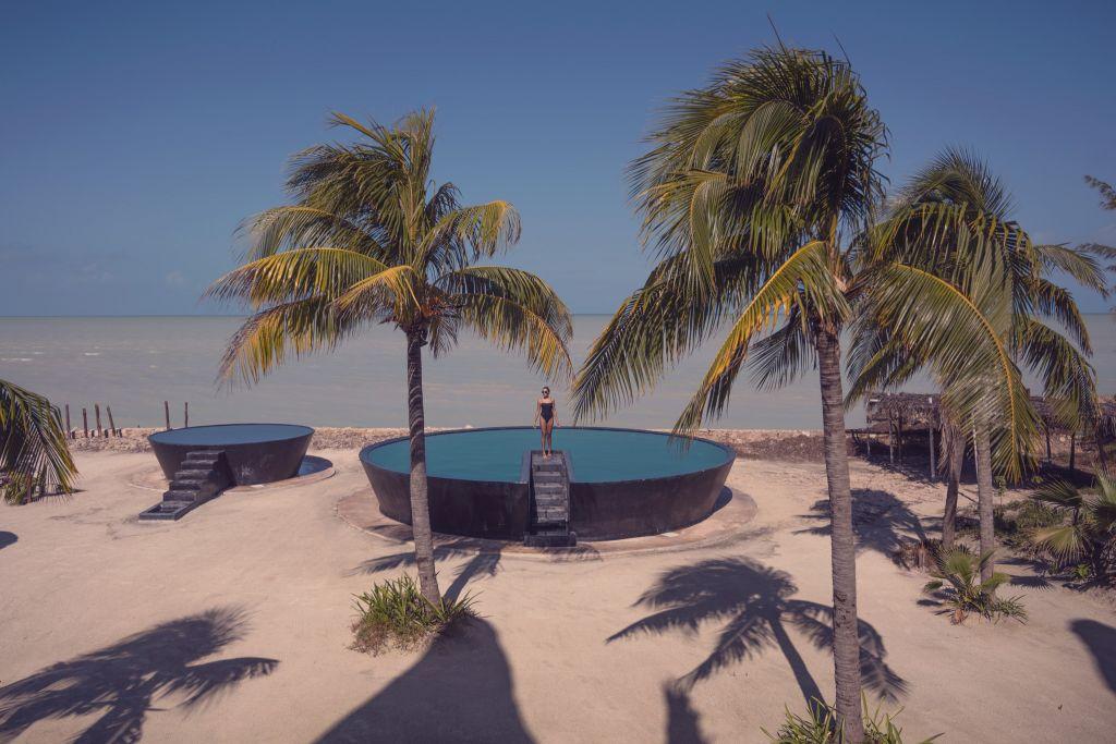 Villa Flamingos Hotel Holbox Island Mexico Travel 2