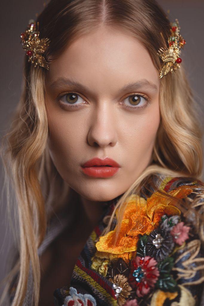 Ford models - Fashion Editorial Model Alessiya Merzlova - Portrait photo of russian model