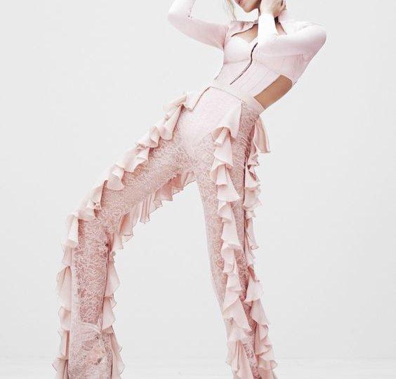 ruffle pants trends fashion blogger