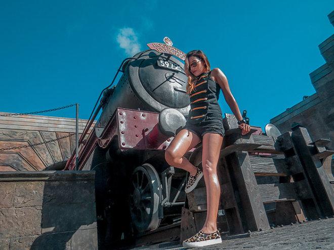 The Wozarding World Of Harry Potter Travel Blog Orlando Fashion Blogger Caro Santamaria10