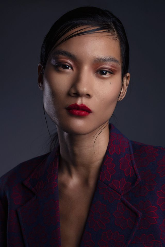 Fashion Editorial Asian Model by Ollie Lythe and Caroseditorial